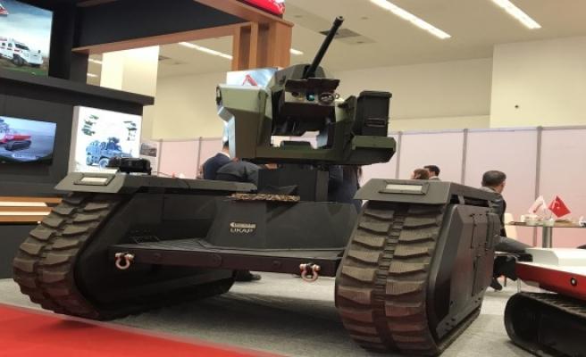 Cumhurbaşkanı müjdeyi vermişti... İnsansız tanklar bugün tanıtıldı