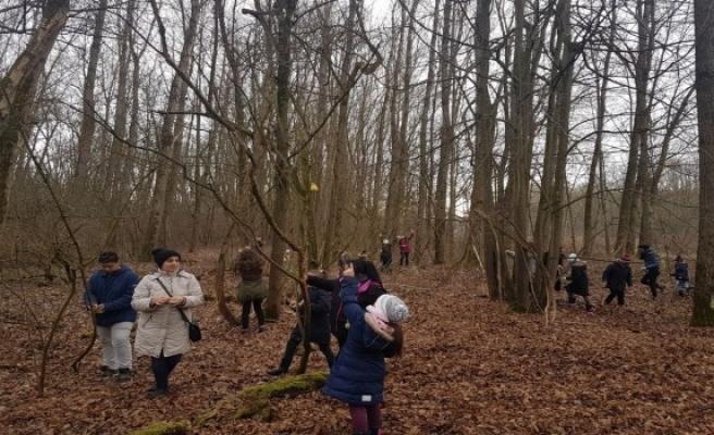 Almanya'daki kuşlara Türk çocuklardan yardım eli