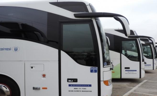 Belediyeden internetli otobüs
