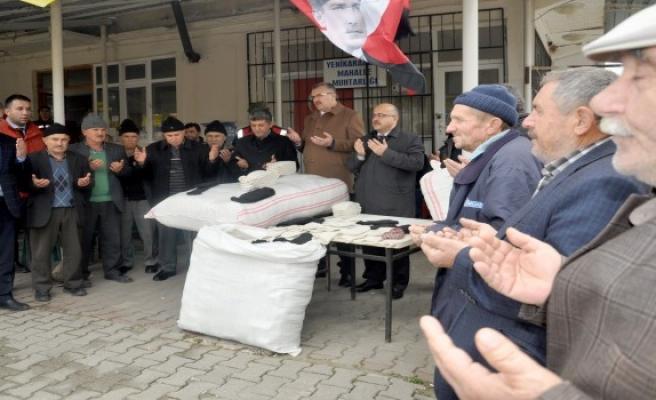 Bursa'da erkekleri çorap ören köyden Afrin için seferberlik