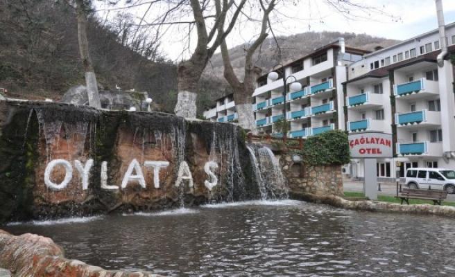 Bursa termali Oylat turizm sezonunu açtı
