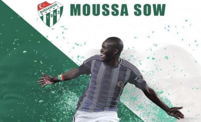 Bursaspor'un yeni yıldızı Sow ile röportaj