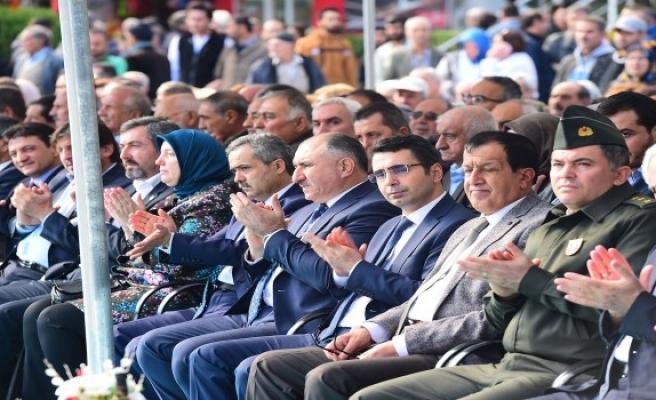 Zeytin festivali törenle kutlandı