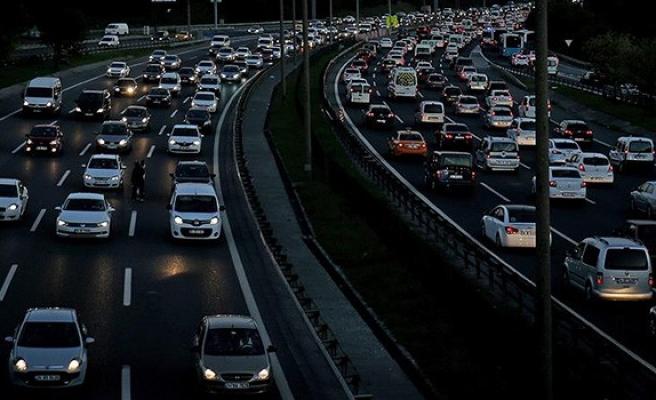 Kayıtlı araç sayısı arttı