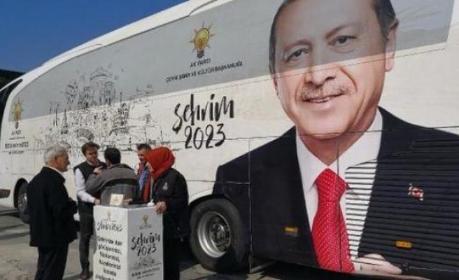 'Şehrim 2023' otobüsü Bursa'da