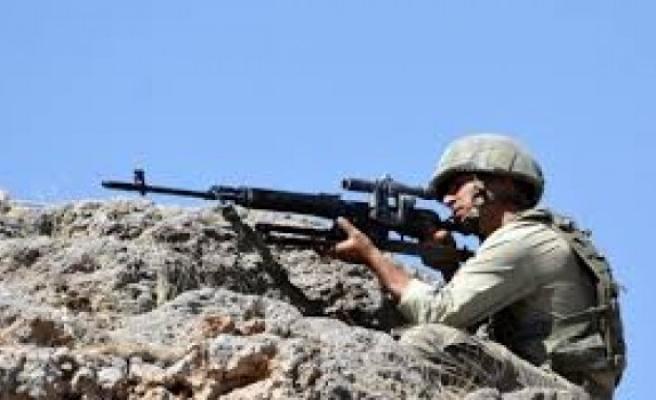 Afrin operasyonuna yönelik hazırlıklar en üst seviyeye çıkarıldı