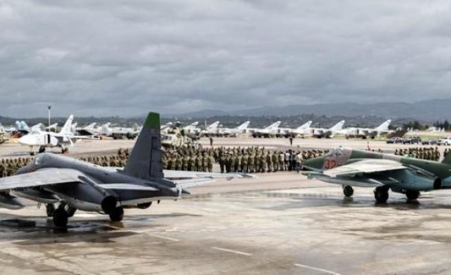 Rus hava üssüne saldırı