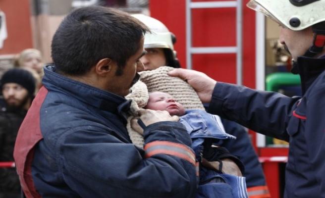 Fatih'teki yangından acı haber