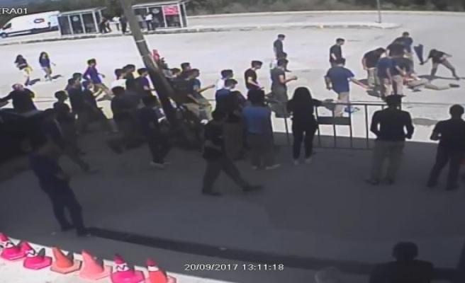 Lise öğrencisi alev alev yandı