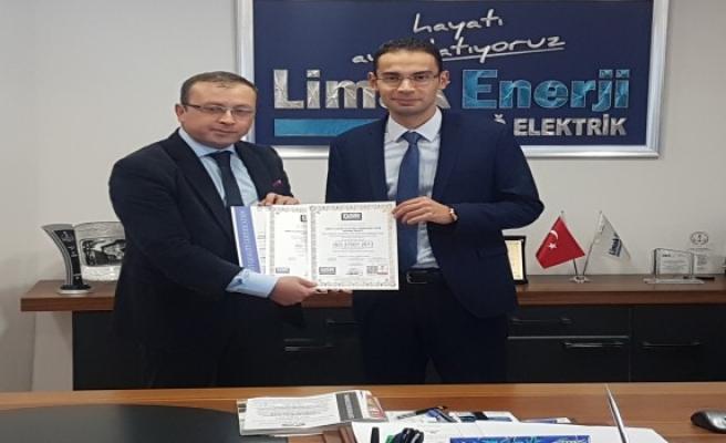 Limak Uludağ Elektrik 'Yeni Nesil ISO 9001:2015'i alan ilk elektrik şirketi oldu