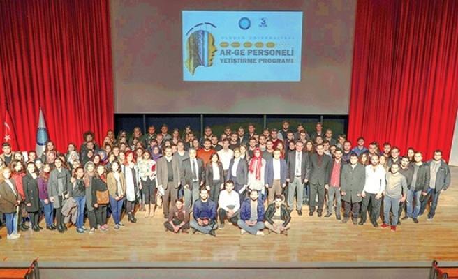 Kalifiyeli AR-GE  personeli Uludağ Üniversitesi'nden