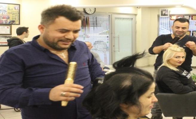 Bayan erkek kuaförleri Türk dizilerine tepkili