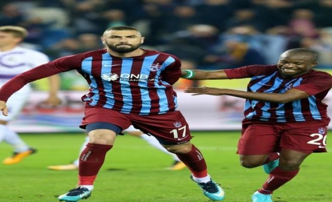 Kral Burak, atıyor Trabzon Coşuyor