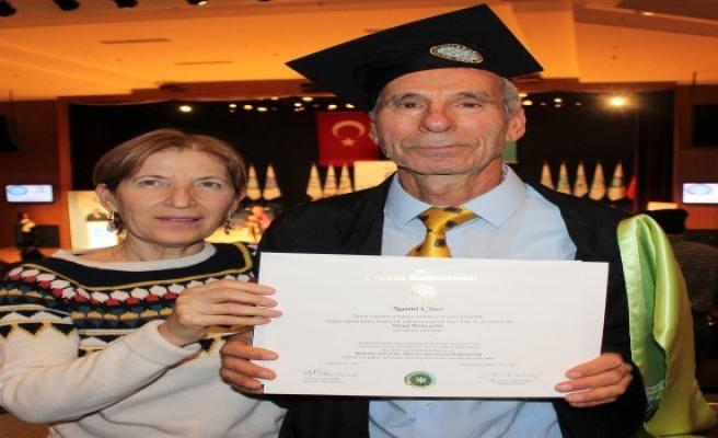75 yaşında ikinci mühendislik diploması
