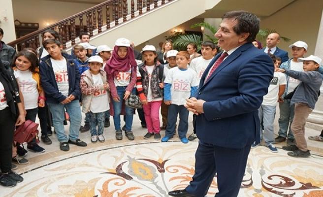 Erzurumlu öğrenciler Bursa'ya hayran kaldı