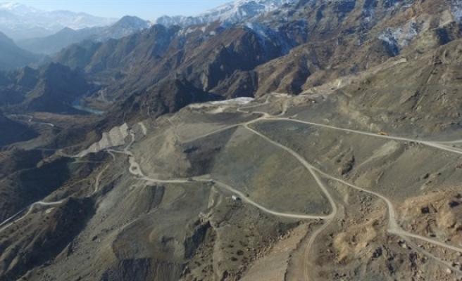 Yusufeli barajı'ndaki çalışmalar hızlandı
