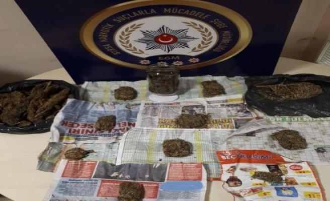 Bursa'da kaçak silah ve uyuşturucu operasyonu