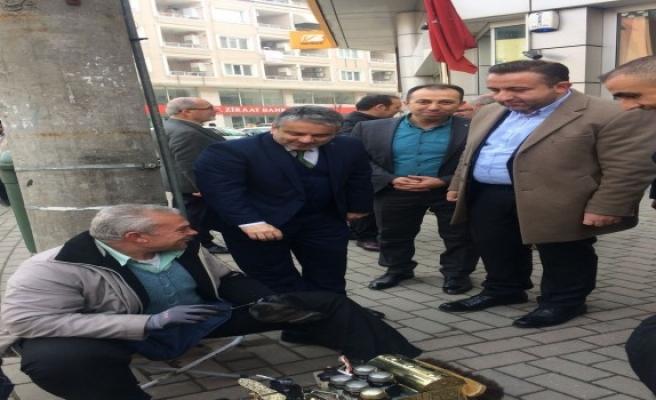 Başkan Salman Bursa'nın her köşesinde halk ile buluşmaya devam ediyor