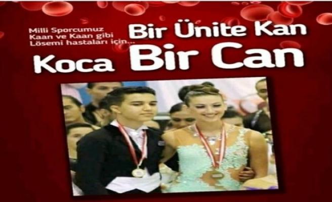Bursa'nın 15 yaşındaki lösemi hastası milli dansçısına kan bağışı