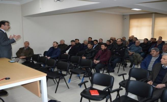Bursa'da okul servisi sürücülerine eğitim