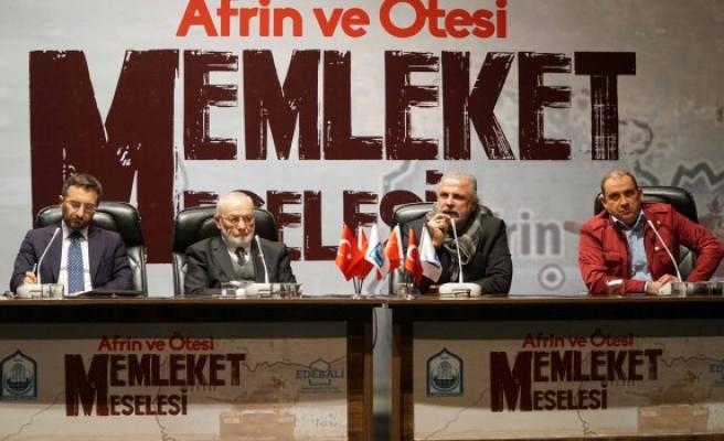 Bursa Yıldırım'da Afrin ve Ötesi Memleket Meselesi Söyleşisi