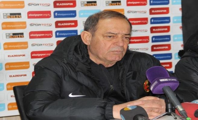 Elazığspor Eskişehirspor maçının ardından