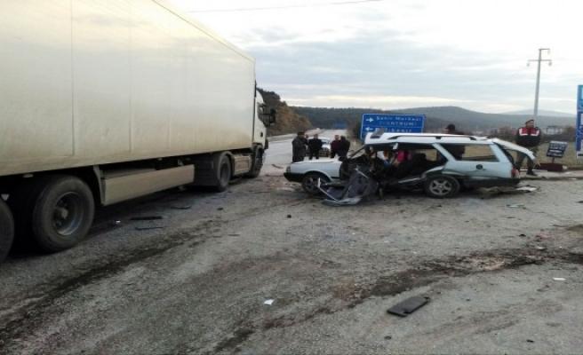Bursa'da trafik kazası can aldı!