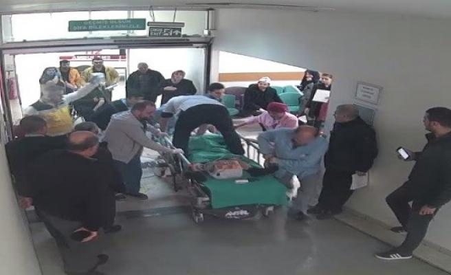 İşte Bursa'da sedyeye çıkarak kalbinden bıçaklanan adamı hayata döndüren doktor