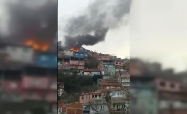 Bursa MAKSEM Mahallesi'nde yangın