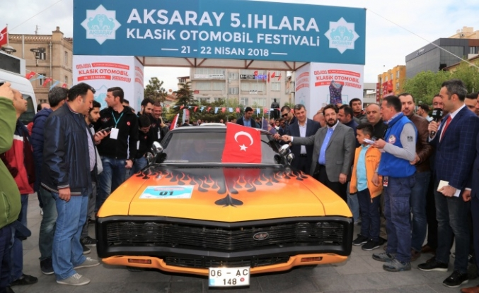 Ihlara'da klasik otomobillerle bir başka ralli