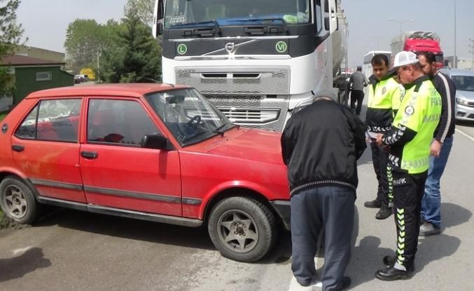 Bursa'da korkunç kaza! Önüne aldı, metrelerce sürükledi