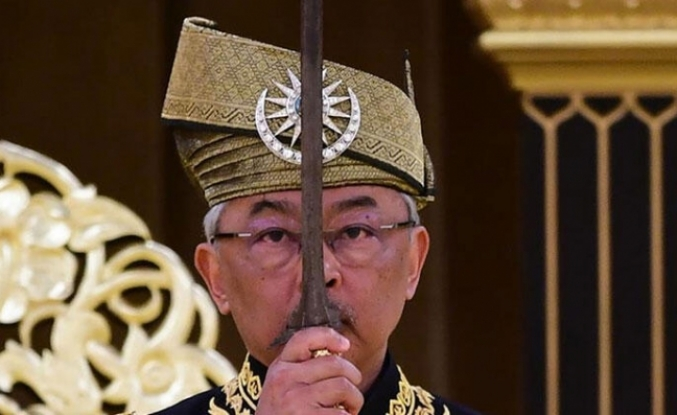 Malezya Kralı Sultan Abdullah törenle tacını giydi