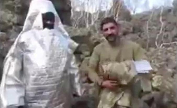 Teröristlerin şaşırtan kamuflaj yöntemi