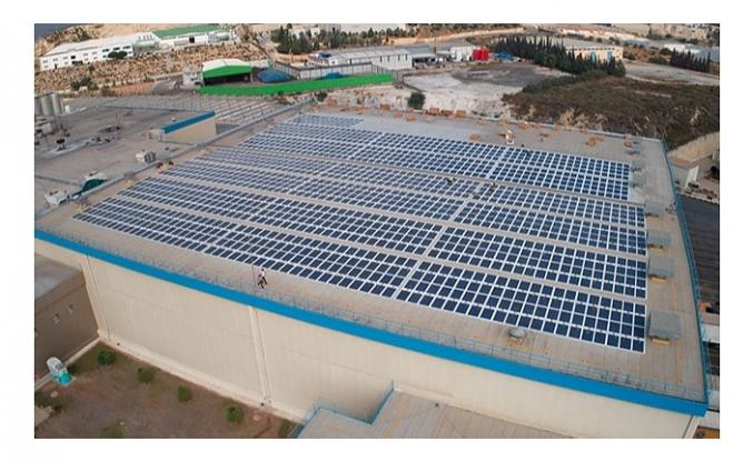 PepsiCo fabrika çatısına güneş enerjisi panelleri yerleştirdi