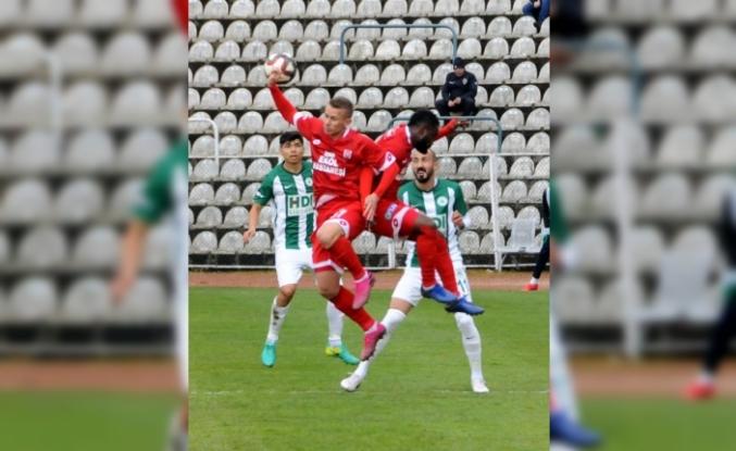 Giresunspor - Ekol Hastanesi Balıkesirspor: 0-3