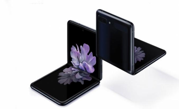Samsung Galaxy Z Flip'i tanıttı
