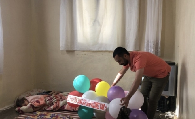 Hayalini kurduğu tablete Ramazan öğretmen sayesinde kavuştu