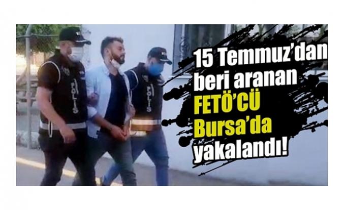 4 yıldır sahte kimlikle kaçan FETÖ'cü Bursa'da yakalandı!