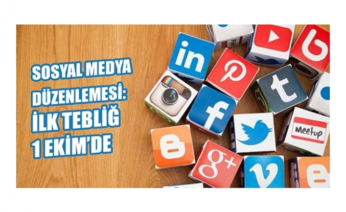 Sosyal medya düzenlemesi: 1 Ekim'de ilk uyarı, tebliğ yapılacak