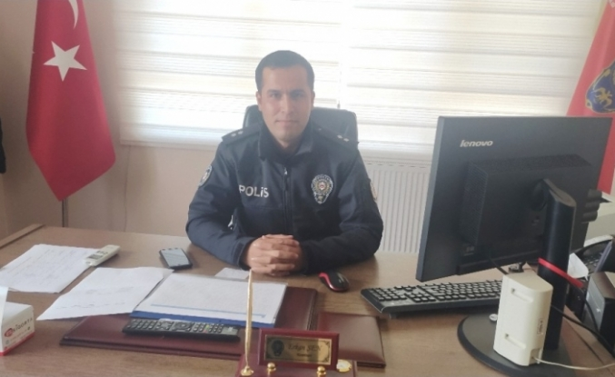 Emniyet Amiri Erkan Şen, görevine başladı