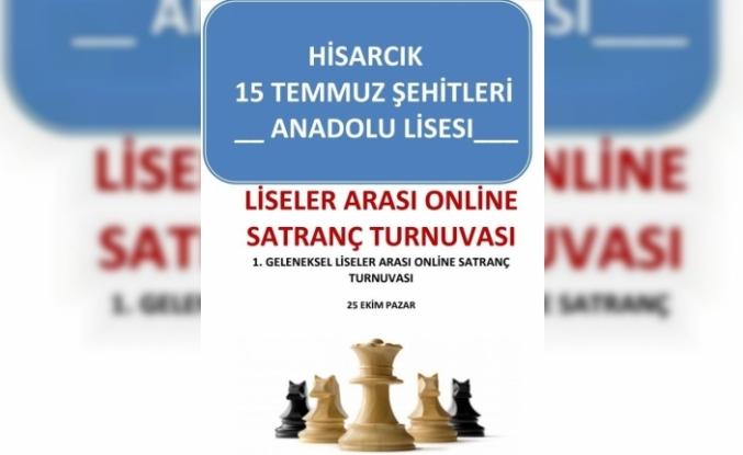 Hisarcık'ta Liseler Arası Online Satranç Turnuvası