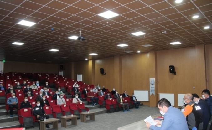 Hisarcık'ta Muhtarlar Toplantısı