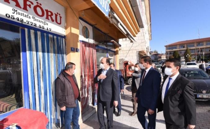 """Başkan Altay: """"Bugüne kadar Altınekin'e 96 milyon liralık yatırım gerçekleştirdik"""""""