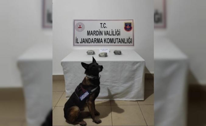Mardin'de 1 kilo 600 gram uyuşturucu ele geçirildi