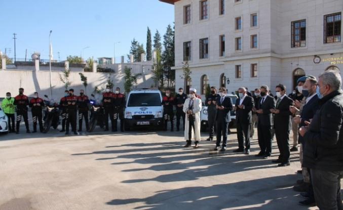 Midyat Emniyet Müdürlüğüne kazandırılan araçlar için tören düzenlendi