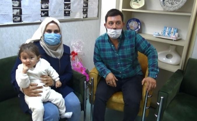 Mardinli çiftin 12 yıllık çocuk hasreti Diyarbakır'da son buldu