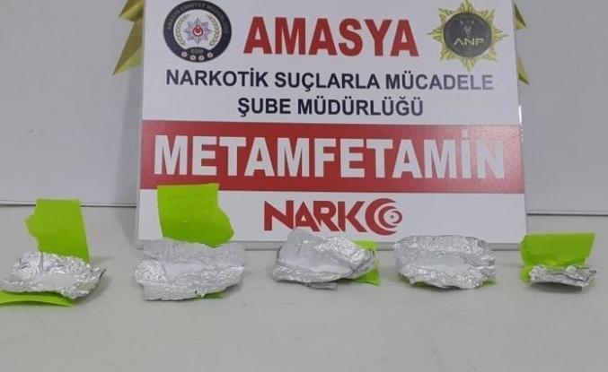 Amasya'da uyuşturucu operasyonu: 7 gözaltı
