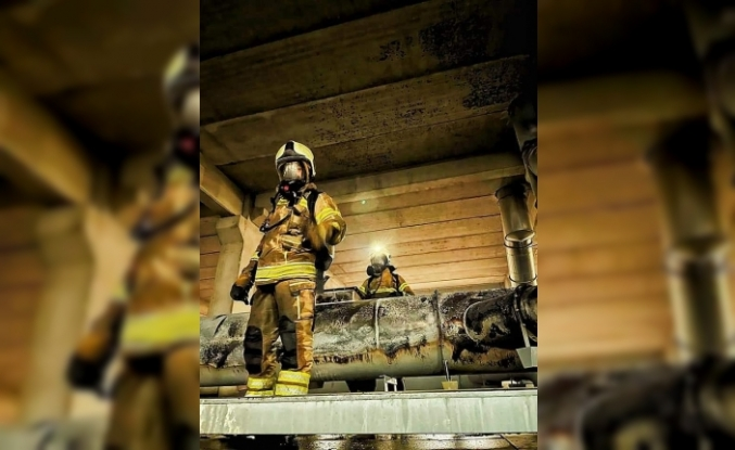 Bursa'da baca yangını korkuttu