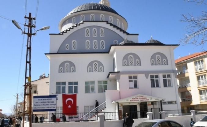 Gölbaşı'nda Hacı Gani Diler Cami ibadete açıldı