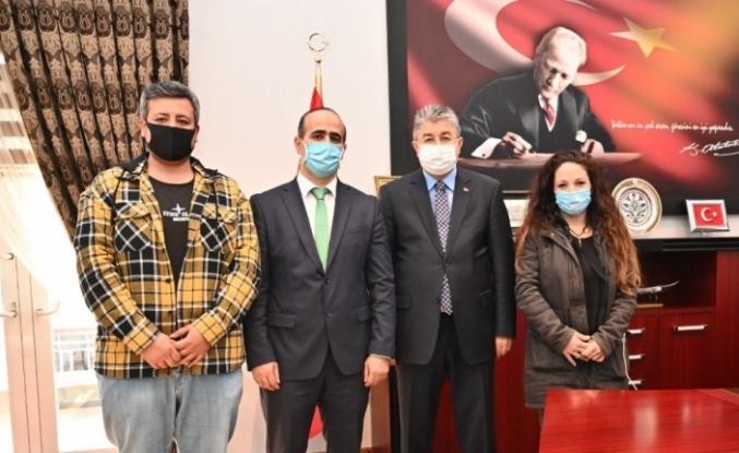 İHA'dan Osmaniye Valisi Yılmaz'a ziyaret